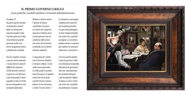 il primo governo Grillo
